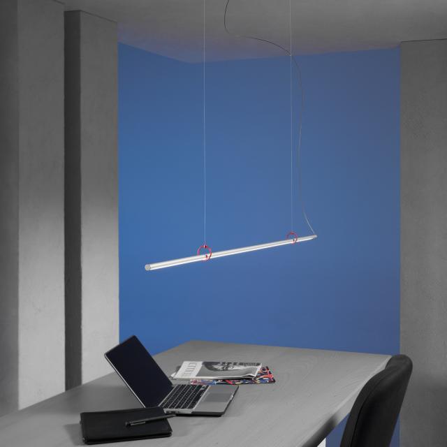 Escale Slimline LED pendant light fixed