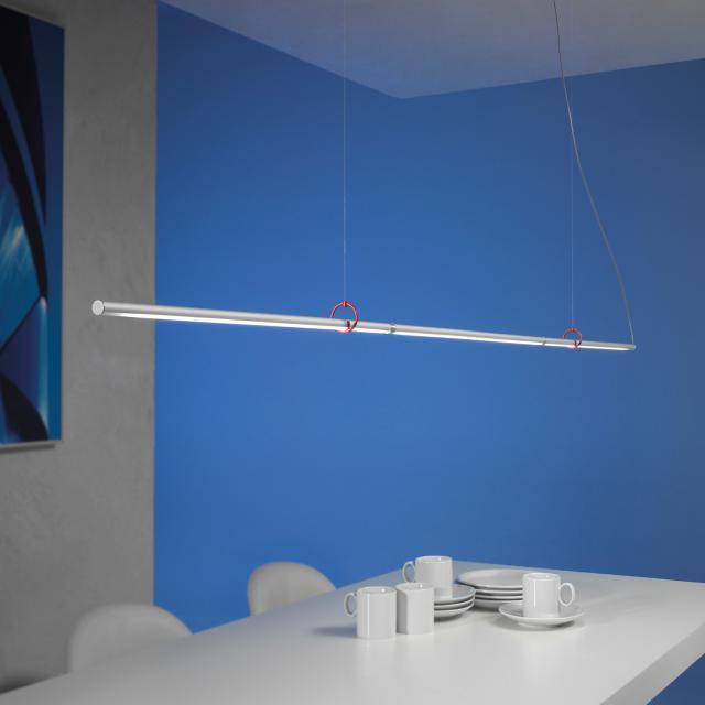 Escale Slimline LED pendant light vario