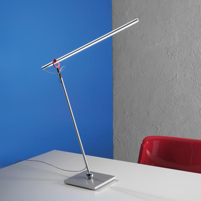 Escale Slimline LED table lamp with dimmer