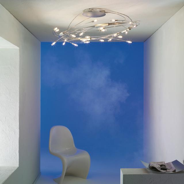 Escale Spin ceiling light 24 heads