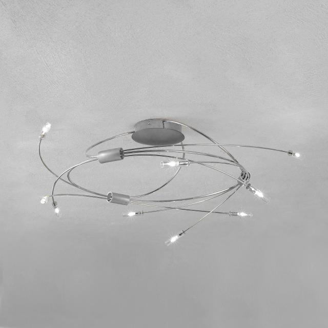 Escale Spin ceiling light 9 heads