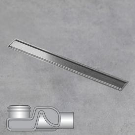 ESS Aqua Jewels Linea xs floor drain including cover brushed stainless steel, L: 20 cm