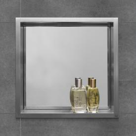 ESS Container BOX 7 wall recess with mirror, for solid walls