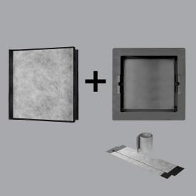 ESS Container T-BOX wall niche, tileable anthracite
