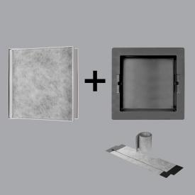 ESS Container T-BOX wall niche, tileable white