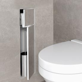 ESS Container T- ROLL toilet brush set with toilet roll holder, tileable white