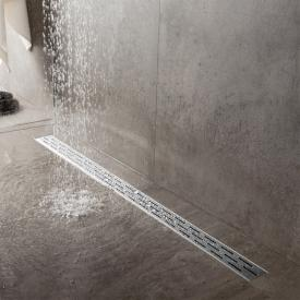 ESS Easy Drain Compact FF shower channel including grid L: 80 cm