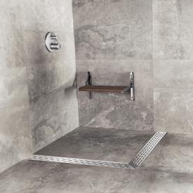 ESS Easy Drain Square multi including cover L: 90/90 cm