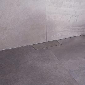 ESS M-Line shower channel complete set including cover L: 120 cm