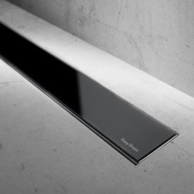 ESS Modulo Basic glass black gloss for shower channel: 70 cm