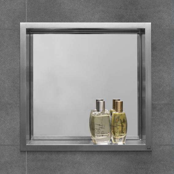 ESS Container BOX 10 wall recess with mirror, for drywall & solid walls