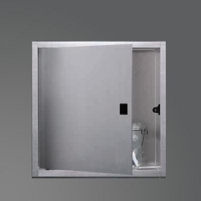 ESS Container BOX wall recess with 1 door, for wet construction