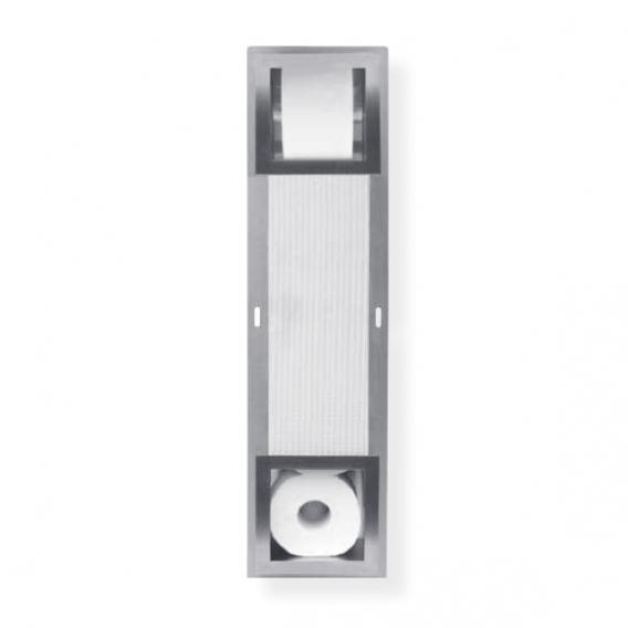 ESS Container storage container for 5 toilet rolls Square W: 195 H: 740 D: 138 mm