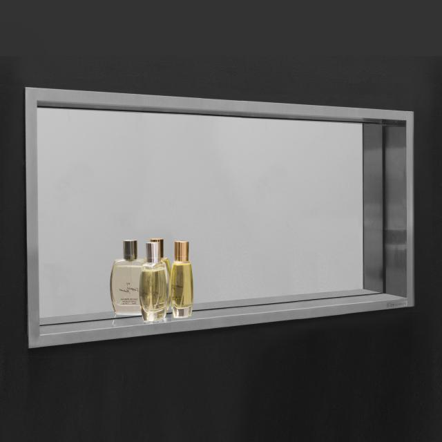 ESS Container BOX wall recess with mirror and frame, for wet construction
