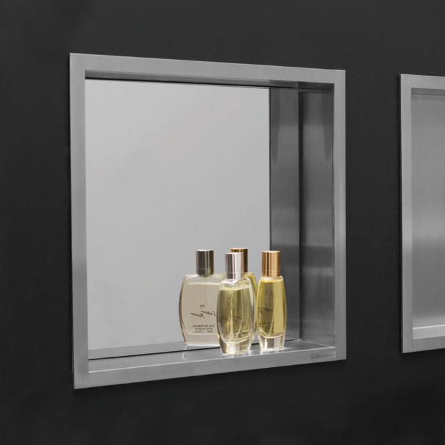 ESS Container BOX wall recess with mirror and frame