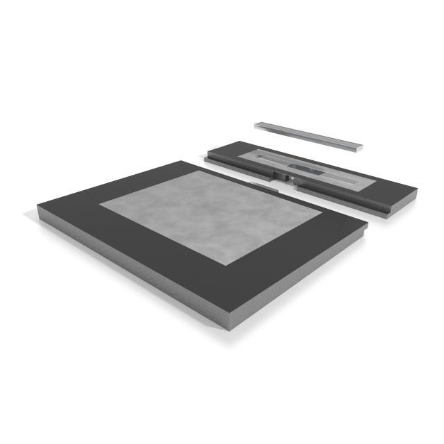 ESS Easyboard Modulo L: 120, W: 110 cm