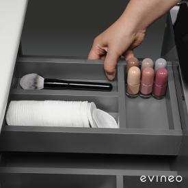 Evineo ineo Compartiment intérieur pour tiroir supérieur de meubles sous-lavabos