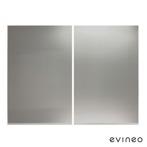 Evineo ineo set of mirror fronts for mirror cabinet with 2 doors W: 80 cm