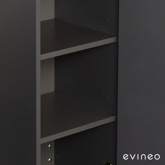 Evineo ineo set of wooden shelves for tall unit, 4 pieces