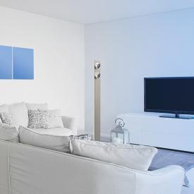 EVOTEC Lightwave LED floor lamp with dimmer