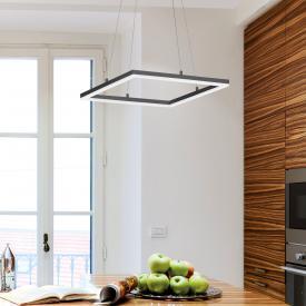 Fabas Luce Bard LED pendant light, square