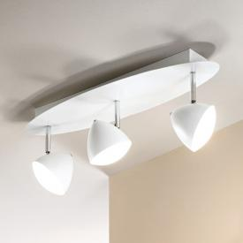 Fabas Luce Bike LED ceiling spotlight 3 heads