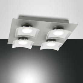 Fabas Luce Desus LED ceiling light 4 heads