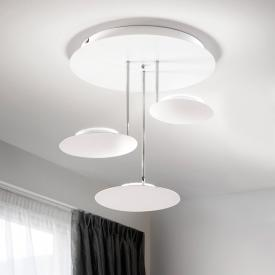 Fabas Luce Fullmoon LED ceiling light 3 heads