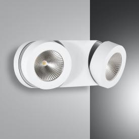 Fabas Luce Hella LED spotlight / wall light, 2 heads