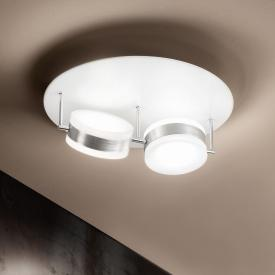 Fabas Luce Mabel LED ceiling light 2 heads