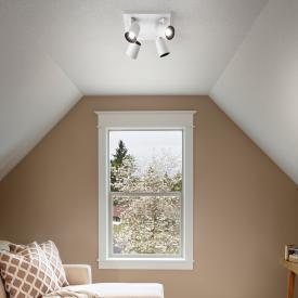 Fabas Luce Modo spotlight / ceiling light, 4 heads