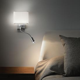 Fabas Luce Viertri LED wall light with flexarm