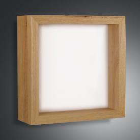Fabas Luce Window LED wall light, square