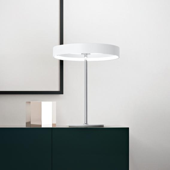 Fabas Luce Double LED table lamp with dimmer
