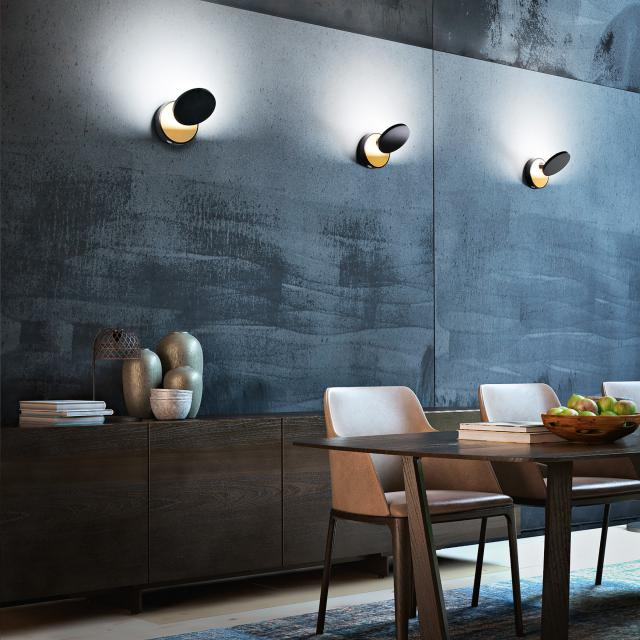 FABAS LUCE Ara LED wall light with dimmer
