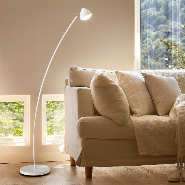 FABAS LUCE Bike LED floor lamp with dimmer