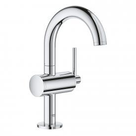 Grohe Atrio single lever basin mixer M size with waste set chrome