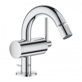 Grohe Atrio single lever bidet fitting M size with waste set chrome