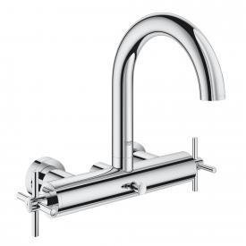Grohe Atrio two handle bath mixer chrome