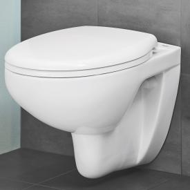 Grohe Bau Ceramic wall-mounted washdown toilet set, with toilet seat