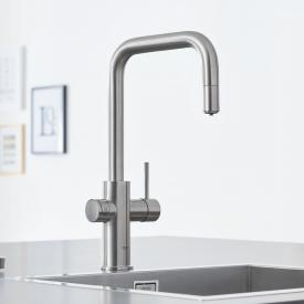 Grohe Blue Home the NEW kitchen fitting with filter function, U spout extendable supersteel
