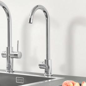Grohe Blue Professional MONO the NEW kitchen fitting with filter function, C spout chrome