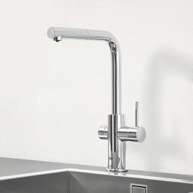 Grohe Blue Professional the NEW kitchen fitting with filter function, L spout extendable chrome