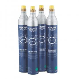 Grohe Blue Starter Kit of four carbondioxide bottles