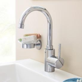 Grohe Concetto single lever basin mixer, Zero, L size with pop-up waste set