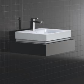 Grohe Cube Ceramic countertop washbasin, white, with PureGuard hygiene coating