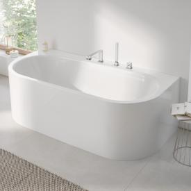 Grohe Essence back-to-wall bath white, with EasyClean
