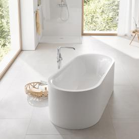 Grohe Essence freestanding bath with overflow