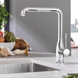 Grohe Essence kitchen fitting chrome