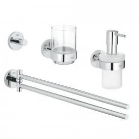 Grohe Essentials bathroom set 4 in 1 chrome